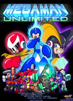MegaMan Unlimited - Cover Art