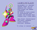 RainbowMan Data Card