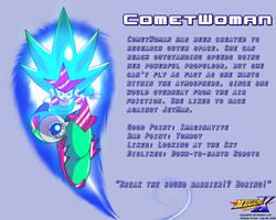 CometWoman Data Card