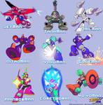 MMU - All 9 Robots Masters