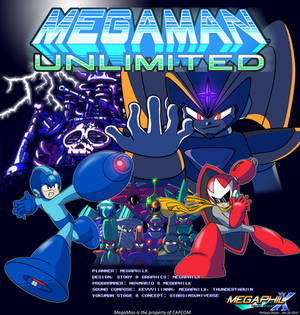 MegaMan Unlimited Cover 2010