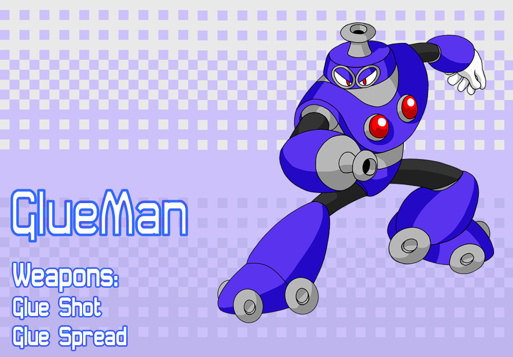 GlueMan by MegaPhilX