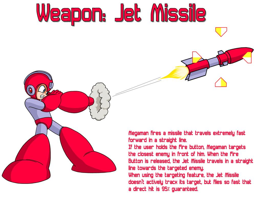 Weapon: Jet Missile by MegaPhilX
