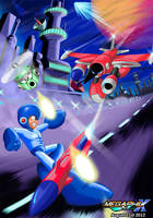 MegaMan Unlimited Decent-Looking Box Art by MegaPhilX