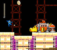A Screenshot of the GlueMan Stage by MegaPhilX