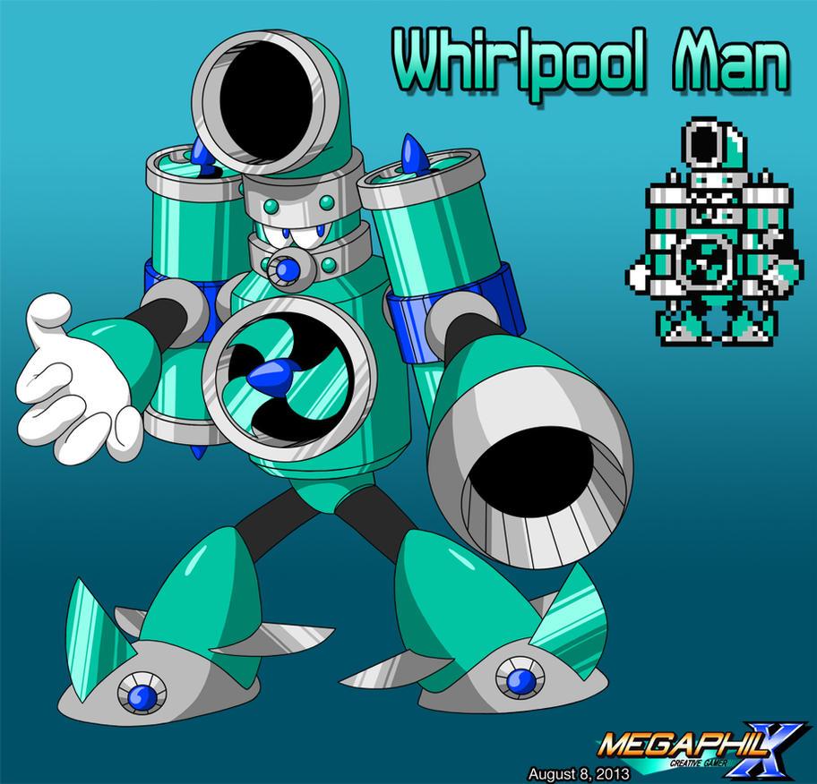 Whirlpool Man By MegaPhilX On DeviantArt