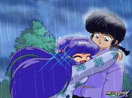 Shampoo and Ranma Cured of their Curse 2