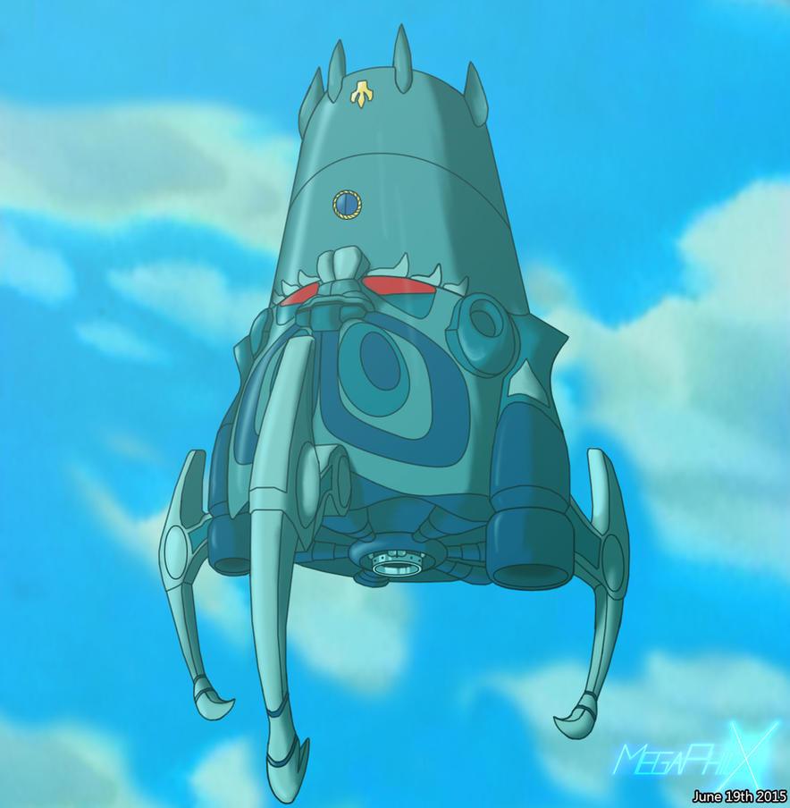 The Olmec Flying Machine (Retrace) by MegaPhilX