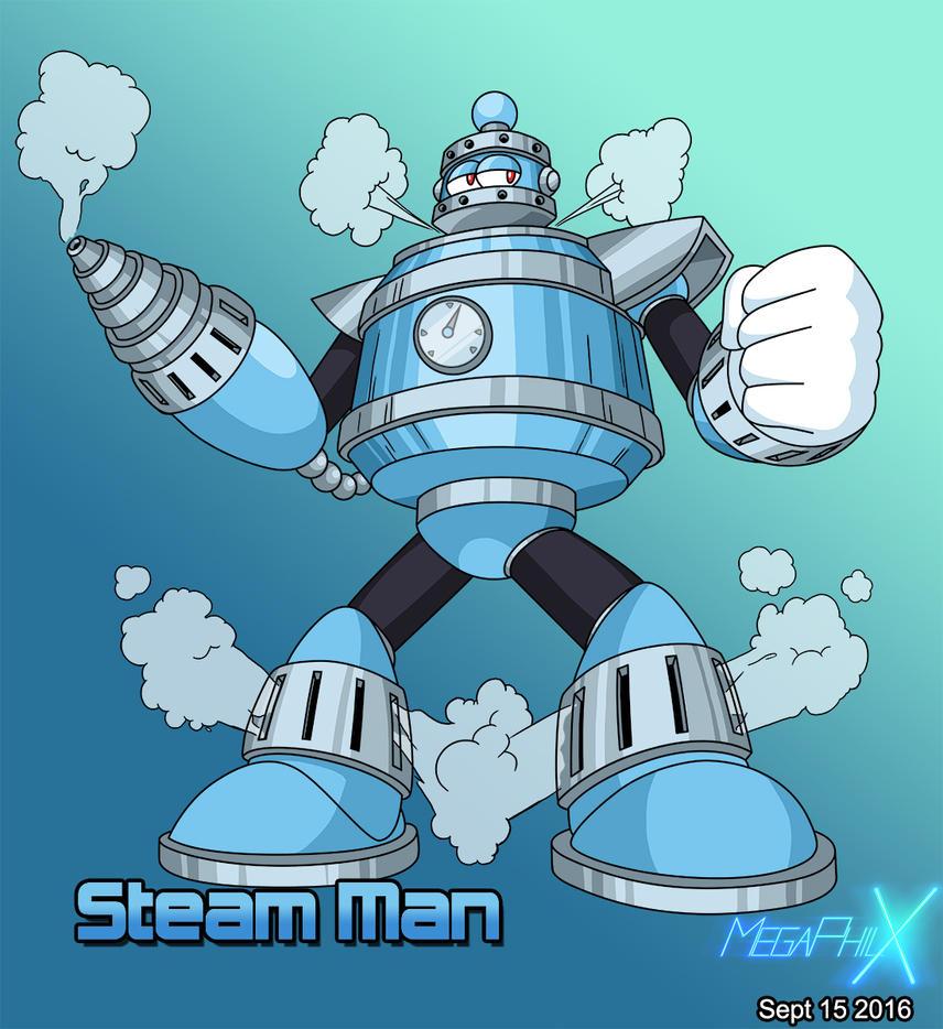 Steam Man by MegaPhilX