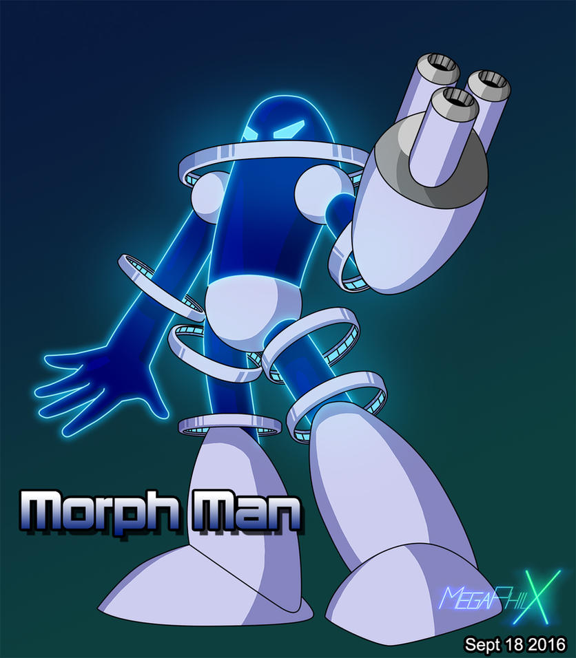 Morph Man by MegaPhilX