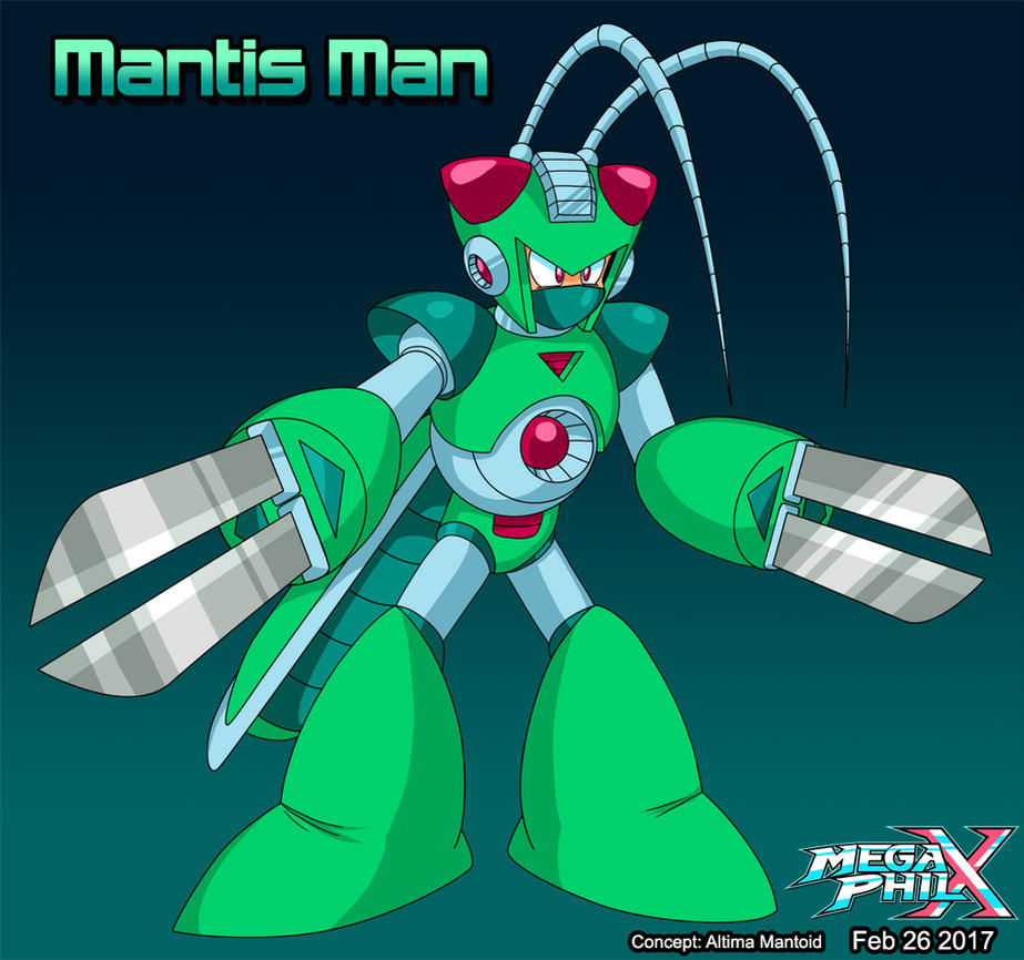 Mantis Man by MegaPhilX
