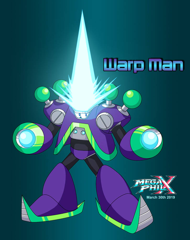 Warp Man (New Design) by MegaPhilX