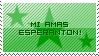 Esperanto -stamp- by Kako-to-Shourai
