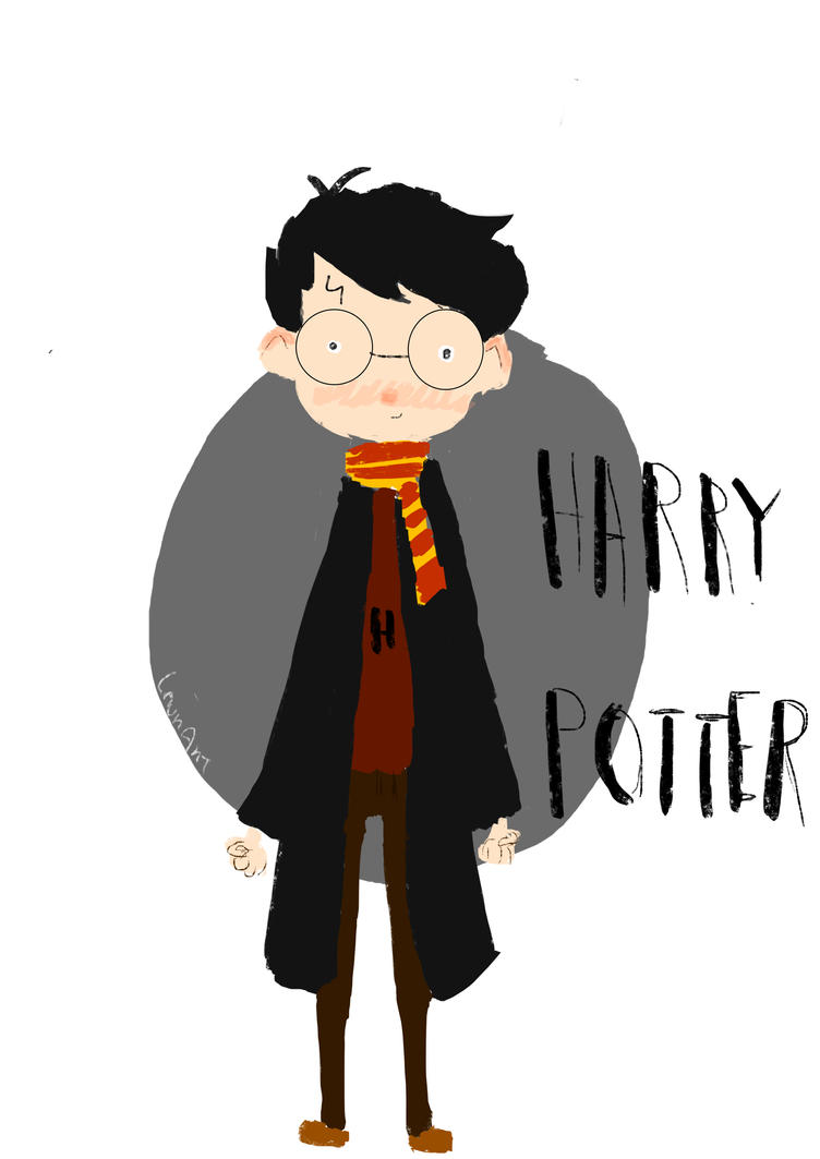 Harry Potter by LaurArtCS