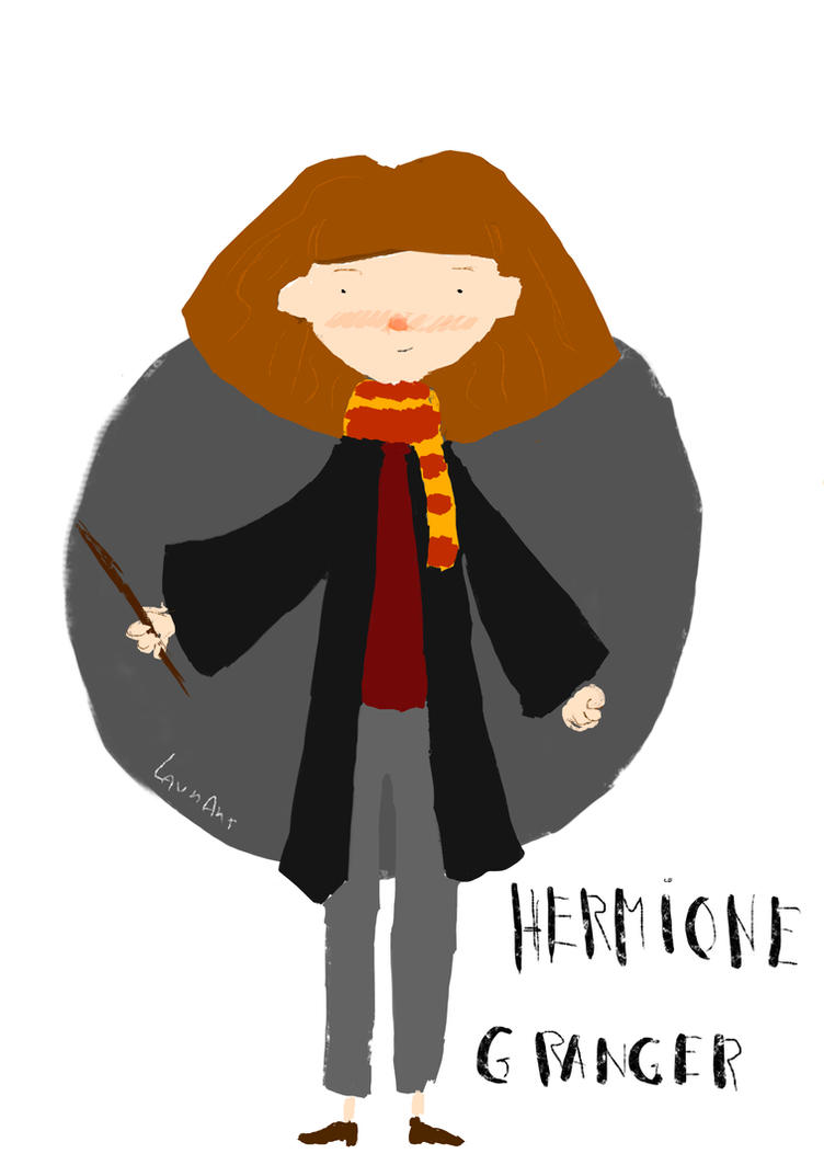 Hermione granger by LaurArtCS