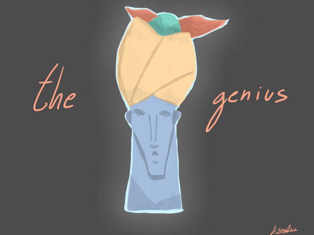The genius by LaurArtCS
