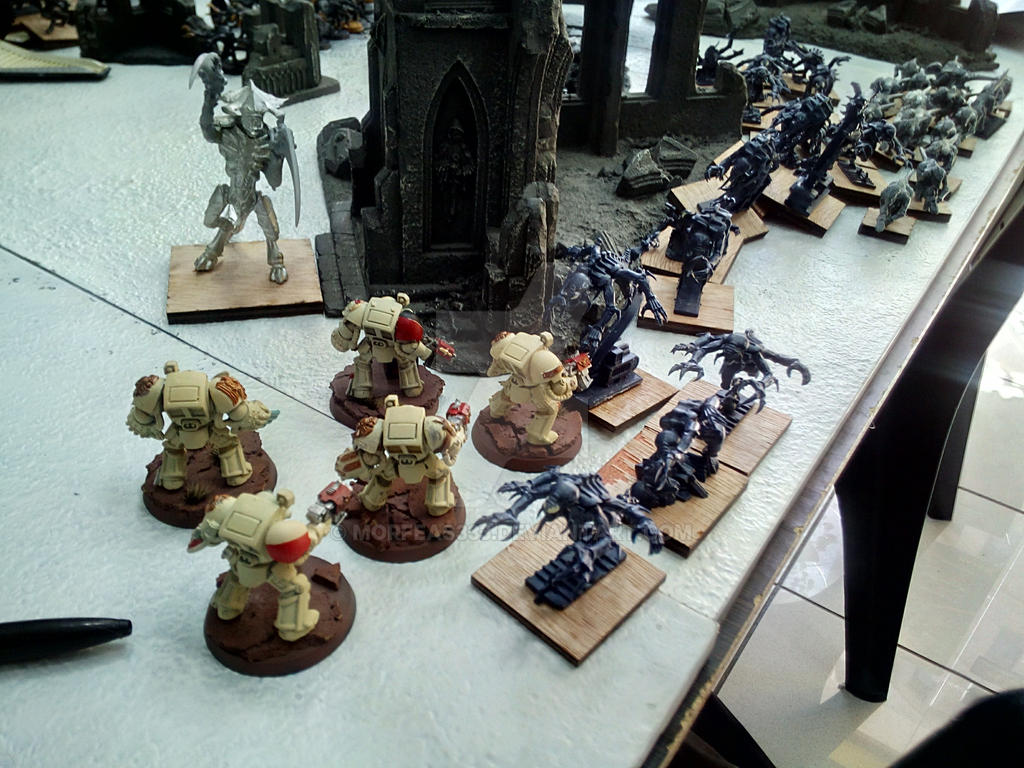 Tyranids vs Dark Angels by Morfeas333 on DeviantArt