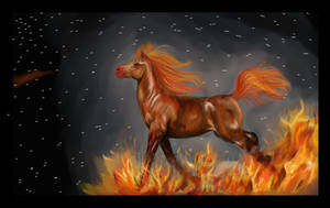 Fire Hooves by stargate4ever23