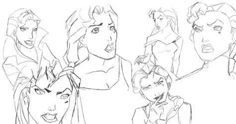 Helga Sketches by stargate4ever23