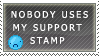 No one uses my stamp by ScreamingGerbil
