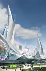 Sail City by aksu