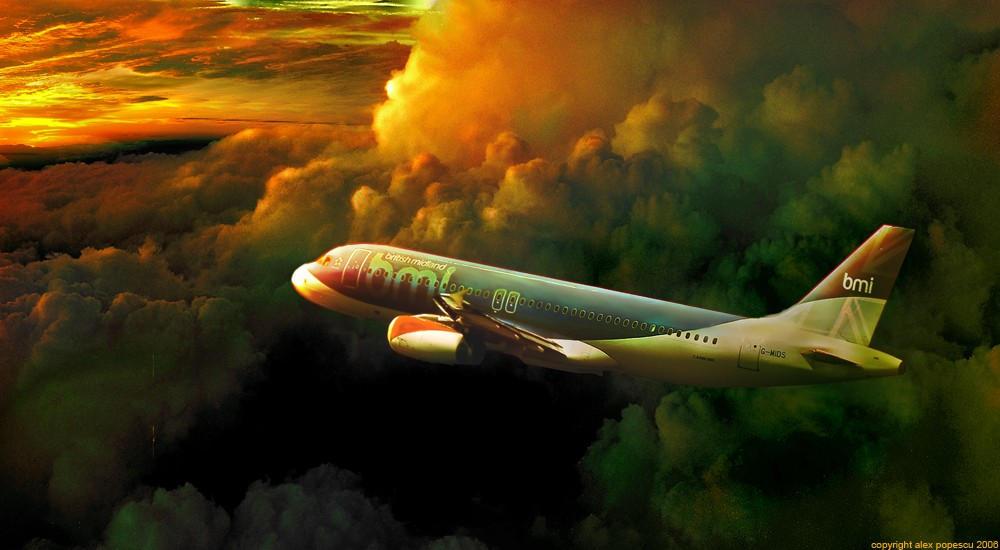 Airplane by aksu