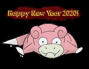Slowpoke Happy New Years!