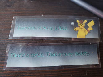 Detective Pikachu Bookmark