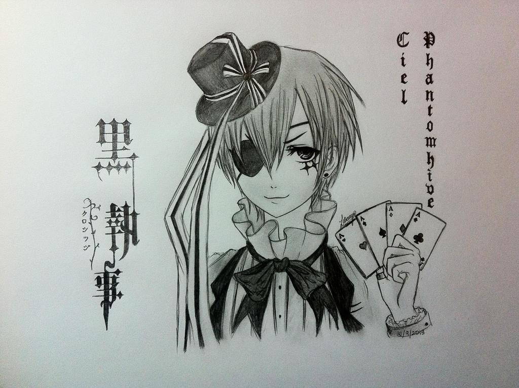 KUROSHITSUJI - Ciel Phantomhive by Autumn-Aries