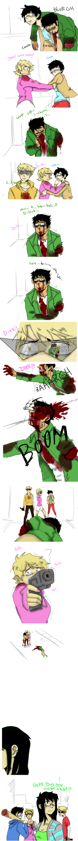 ZombieStuck The Death Of Jake by zoezoozoo