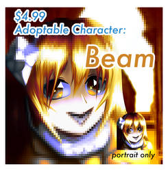(OPEN) Adoptable Character: Beam (Portrait)
