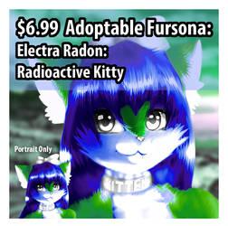 Adoptable Character: Electra Radon (Portrait)