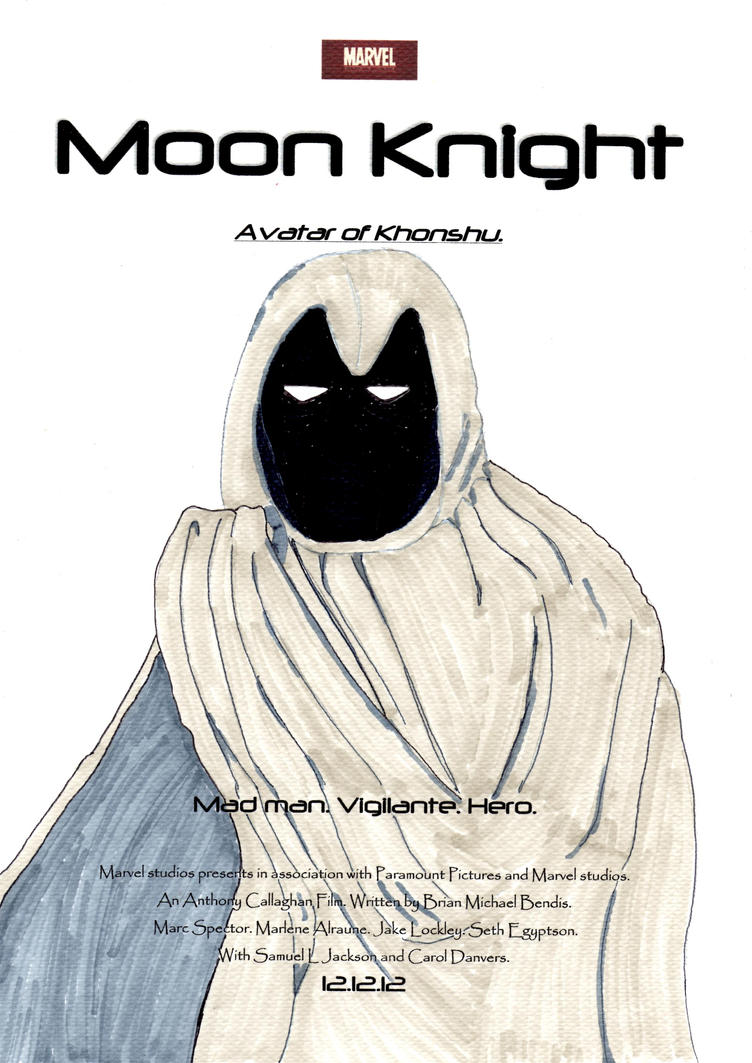 Moon Knight Movie Poster contest entry by Anthony-Callaghan on ...