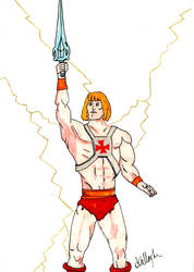 He-Man. by Anthony-Callaghan
