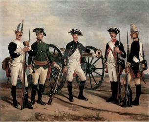 East Prussian regiments by julius1880