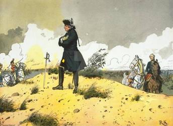 Frederick At Kunersdorf by julius1880