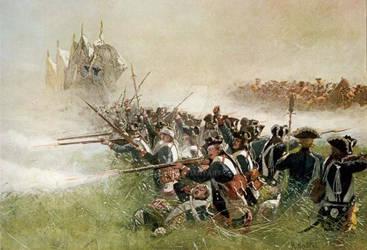 1. Leibgarde at Kolin by julius1880