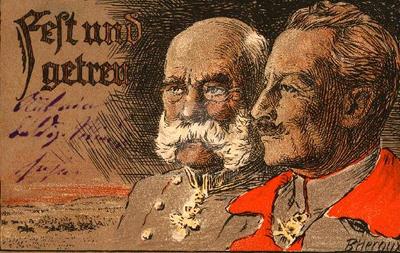 Zweibund post karte by julius1880