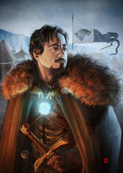 Lord Tony Stark of Winterfell by Khasis Lieb