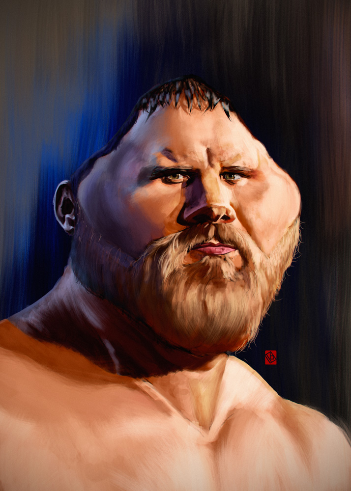 WWE Curtis Axel by KhasisLieb
