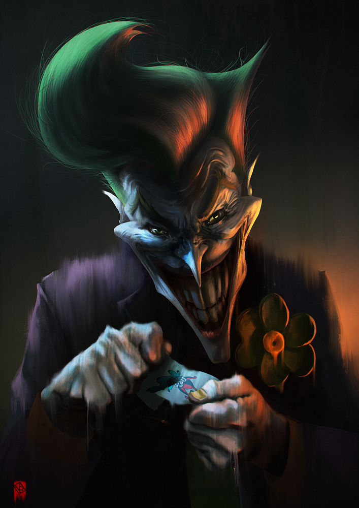 The Joker by KhasisLieb