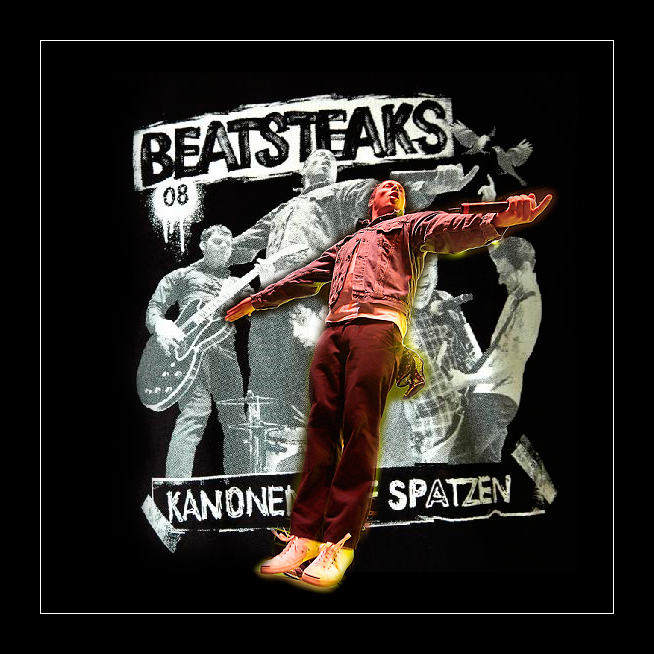 Beatsteaks Tour Shirt 2008 by zAPPiENCe