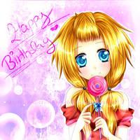 Happy late Birthday, June3698! by OkotteNeko