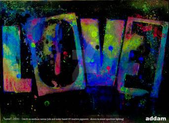 LOVE (mixed light)