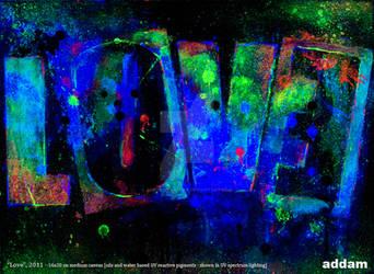 LOVE (UV light)