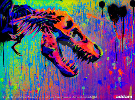 T Rex (UV light)