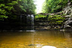 Albany waterfall and cove