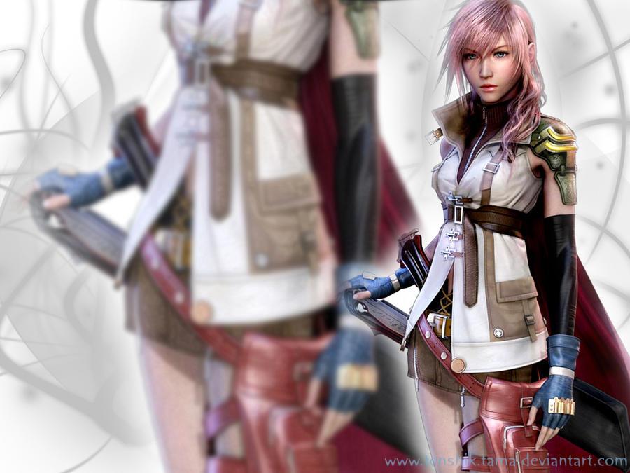 FF XIII - Lightning by TenshiTama