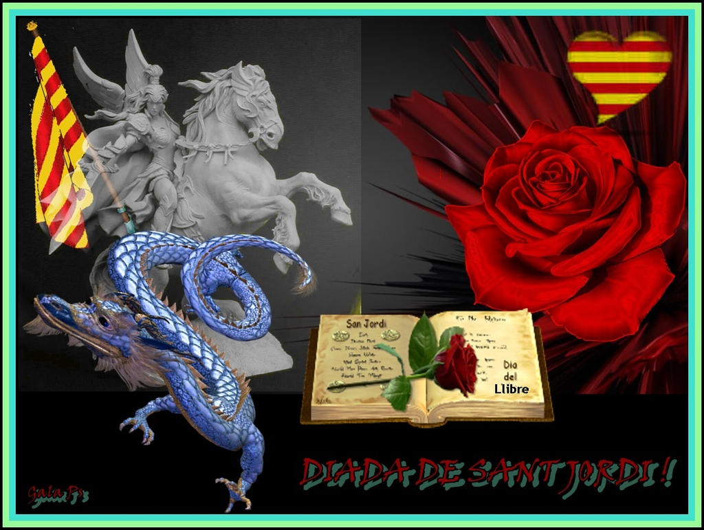 Sant Jordi-2015 by gala2025