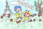Madeline and Coraline by BossZula